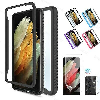 For Samsung Galaxy S21S21-Ultra 5G Note 20 Case Camera Lens Screen Protector
