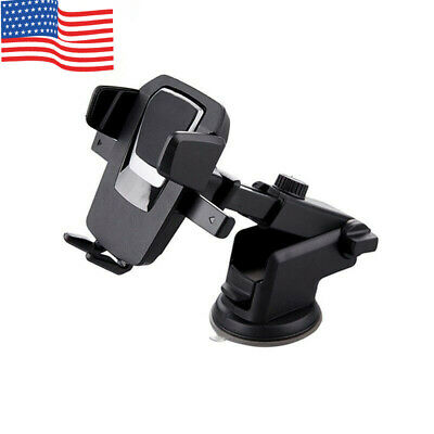 360° For iPhone Samsung Mount Holder Car Windshield Stand Mobile Cell Phone GPS
