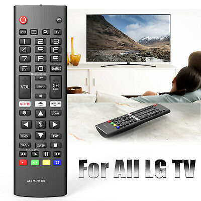 Universal TV Remote Control Replace for ALL LG LCD LED HDTV 3D Smart AKB75095307