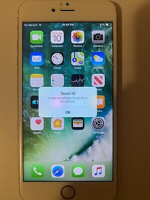 iphone 6 plus unlocked 64gb No touch id