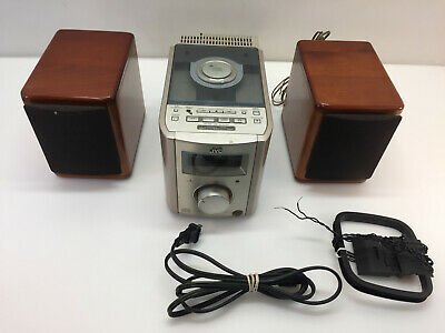 JVC FS-7000 30W Ultra Compact Component Systems CD AM FM No Remote
