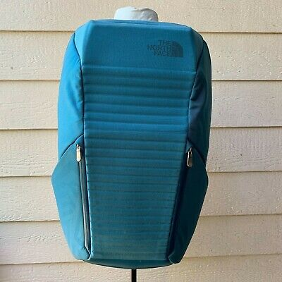 The North Face Access Pack Teal Backpack Hardshell Unisex Computer Laptop Case