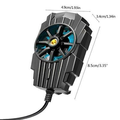 Mobile Phone Radiator Smartphone Live Cooling Fan Cool Tools with USB Cable