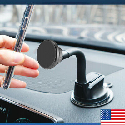 360° Car Magnetic Windshield Cell Phone Stand Mount Holder For GPS iPhone 7 8 11