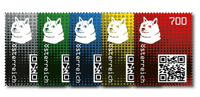 Crypto Stamp 2-0 - DOGE -  ALL COLORS  ALLE FARBEN