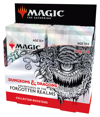 Adventures in the Forgotten Realms Collector Booster Box - MTG - Ships Now