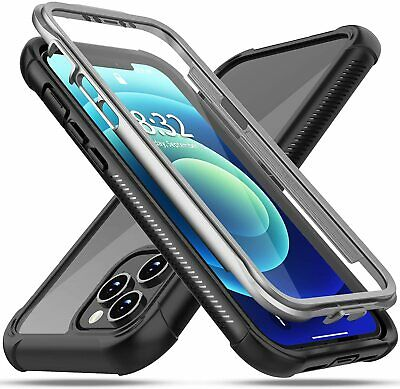 For iPhone 11 XR XS 8 7 Plus SE Phone Case Cover Shockproof w Screen Protector