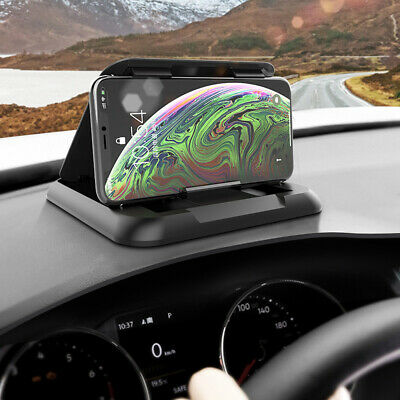 Universal Dashboard Phone Holder Car Dash Cell Phone Mount Holder Silicone Stand