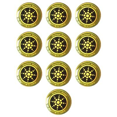 1X10Pcs Emf Protection Sticker Anti Radiation Cell Phone Sticker for Phones