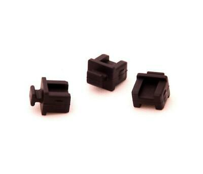 50x SFP-B Fiber Optic Connector Soft Silicone Anti Dust Plugs Stopper Cover