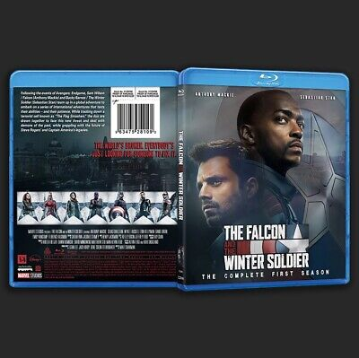 The Falcon and The Winter Soldier Complete Season One Custom blu-ray Artwork