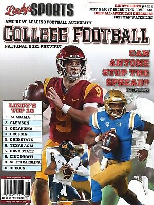 Lindys Sports College Football National 2021 Preview Covers Vary