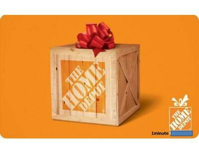 Home Depot 5 OFF50 SAVING DISCOUNT  or 1O-OFF1OO