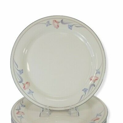 Lenox Chinastone Glories on Grey Dinner Plates 10 34 Made in USA MINT Multiple