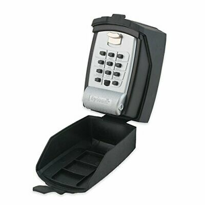 KeyGuard Pro SL-590-CVR Outdoor Lock Box with Protective Rubber Cover Silver -