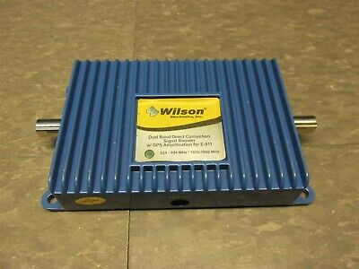 Wilson 811200 Direct-Connect 8001900 MHz In-Line Amplifier 2B1401