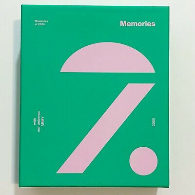 US SELLER BTS Memories of 2020 Official BLU-RAY - DVDS - PHOTO SET no pc