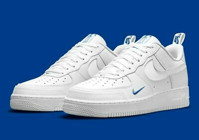 Nike Air Force 1 LV8 Shoes White Game Royal Blue DN4433-100 Mens Multi Size NEW