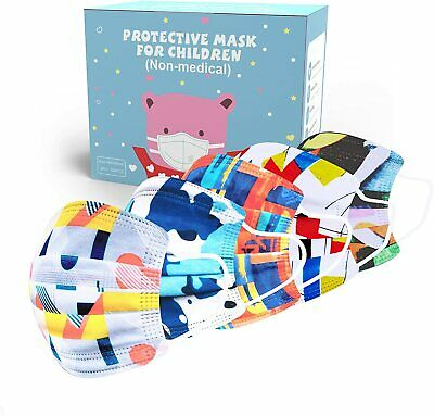100CS High Qulity Kid Face Mask Non Medical Surgical Disposable 3Ply