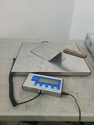 150 LB X 0-05 LB Salter Brecknell LPS 150 Portable Shipping Scale used