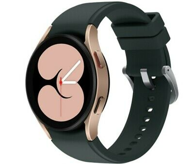 Samsung Galaxy Watch4 SM-R860 40mm Gold Aluminum Case with Green Sport Band