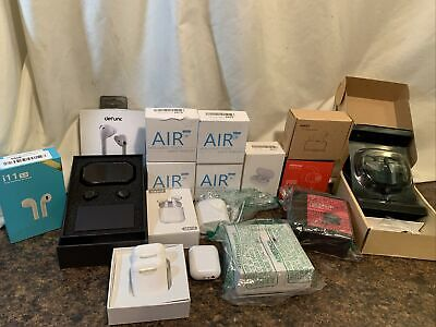 Lot of 18 Wireless Earbuds Amazon Returns - Untested Includes 2 AirPods