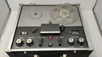 Ampex 1260 suitcase reel-to-reel tape recorderplayer
