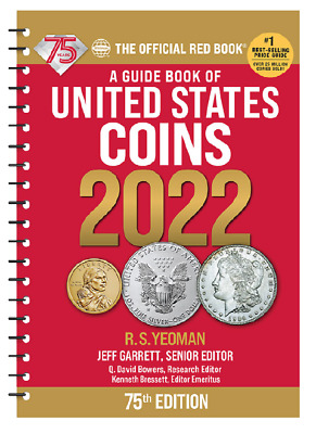 2022 Red Book Price Guide 75th Edition Spiral IN STOCK - SHIPPING NOW