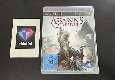 Assassin's Creed III -- Pyramide Software (Sony PlayStation 3, 2014) Complete