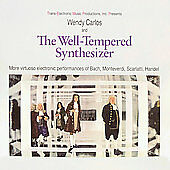 Wendy Carlos – The Well-Tempered Synthesizer CD