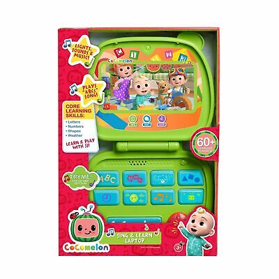 Cocomelon SING - LEARN LAPTOP 60- Learning Phrases LIGHTS SOUNDS MUSIC Christmas