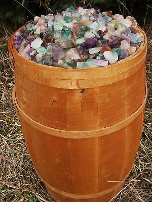1000 Carat Lots of Unsearched Natural Fluorite Rough - a Nice FREE faceted Gems