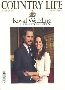 PRINCE WILLIAM KATE MIDDLETON COUNTRY LIFE SPECIAL MAG