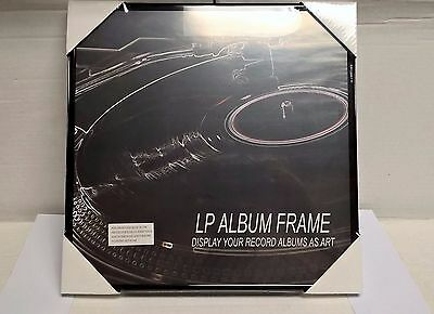 LOT OF 2 RECORD ALBUM FRAMES NEW in wrap- FREE SHIP