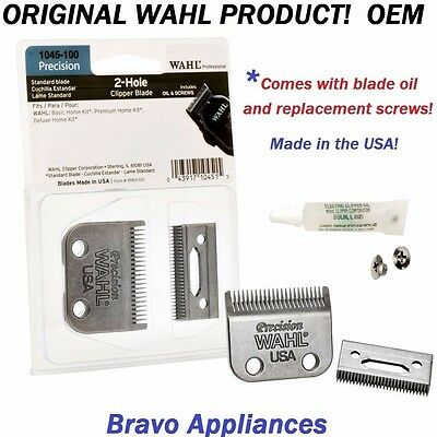 WAHL  1045-100 REPLACEMENT BLADE SET PRO 2 HOLE PRECISION CLIPPER BLADE NEW