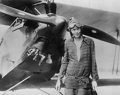 AMELIA EARHART 8X10 GLOSSY PHOTO PICTURE IMAGE 2