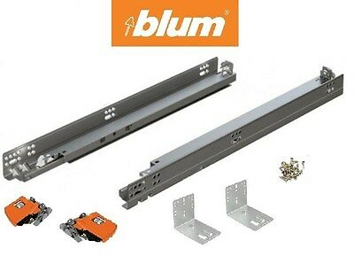 563H Series BLUM Tandem Drawer slides with BLUMOTION pair with locking devices