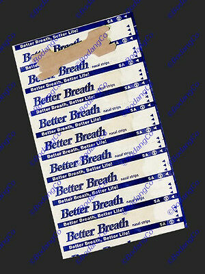 120 LARGE NASAL STRIPS Breathe Better - Reduce Snoring Right Now 100-20