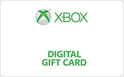 Xbox Digital Gift Card - 15 25 50 - Email delivery