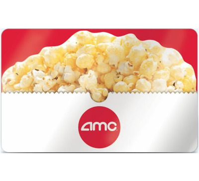 AMC Theatres Gift Card - 25 35 50 or 100 - Email delivery