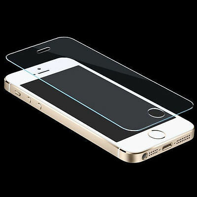 New 100 Genuine Tempered Glass Film Screen Protector for Apple iPhone 5 5c 5S