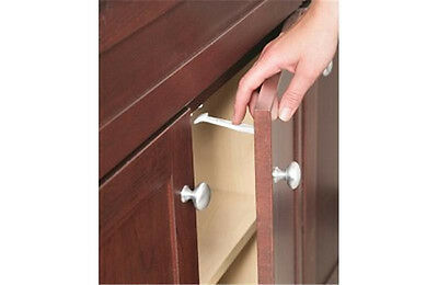 Safety 1st 14 Pack Wide Grip Cabinet Locks - Drawer Latches Child Proof - 72321