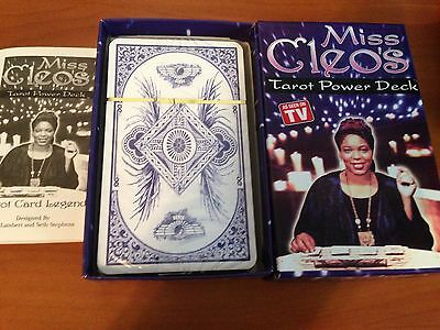 NEW SEALED Miss Cleos Tarot Power Deck tarot cards