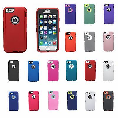 New Heavy Duty Hybrid Shock Proof Defender Rugged Case For iphone 6 Plus 5-5