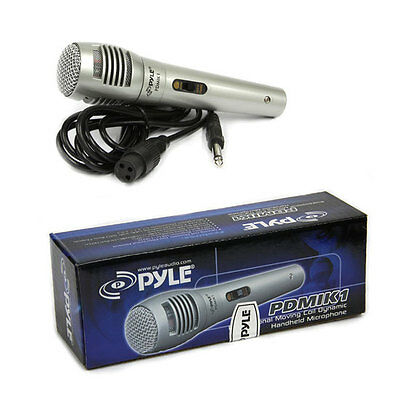 Pyle PDMIK1 Professional Moving Coil Dynamic Handheld Microphone 6-5 Ft- Cable