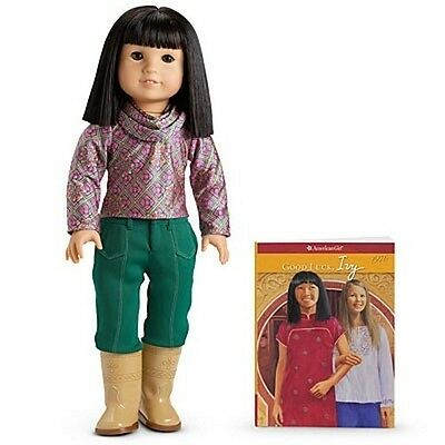 American Girl IVY LING DOLL - PAPERBACK BOOK top pants boots earrings NRFB