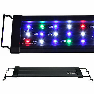0-5W 12182430364872Aquarium LED Light Multi-Color Full Spec Plant Marine
