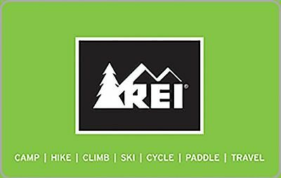 REI Outdoor Adventure Gift Card - 25 50 100 - Email delivery