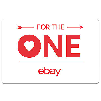 eBay Gift Card For The One Edition 15 to 100 - Email Delivery