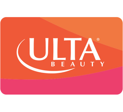 Ulta Beauty Gift Card - 25 50 or 100 - Email delivery